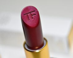 Tom Ford Bruised Plum Lip Color. Can I pull off this color? I wonder...
