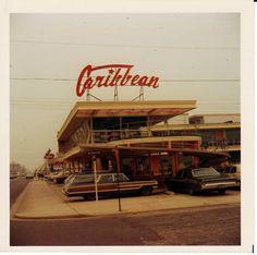 Caribbean motel in Wildwood Crest, 1971
