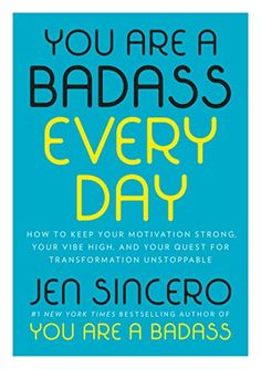 You Are a Badass Every Day: How to Keep Your Motivation. As an Amazon Associate I earn from qualifying purchases. https://www.amazon.com/dp/0525561641/ref=cm_sw_r_pi_dp_U_x_n9SaCbANZ1TFP Book Lists, Book Club Books, Great Books, New Books, Books To Read, Free Reading, Reading Lists, Every Day Book, Nutritionist Salary