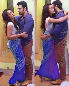 Indian Actress Images, Indian Actresses, Tv Show Couples, Cute Couples, Saree Backless, Most Beautiful Bollywood Actress, Sari Blouse Designs, Saree Photoshoot, Custom Dresses