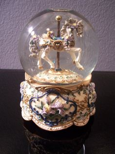 San Francisco Music Box Co Carousel Horse by SacredVeilBridal