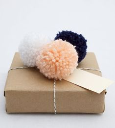 How to Decorate with Pom-Poms - lookslikewhite Blog - lookslikewhite