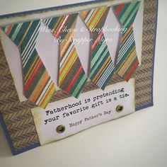 Wine, Cheese and Scrapbooking: More for Fathers...