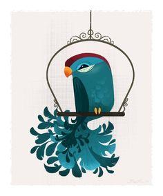 Blue Birdie {Brittney Lee}
