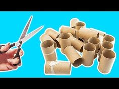 4 Ways To Recycle Empty Toilet Paper Roll | Best Out of Waste - YouTube