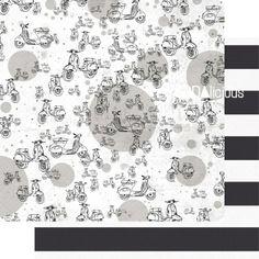 SODAlicious paper ► I love my vespa/zebra