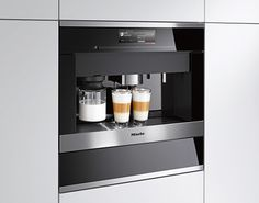 On the 2016 IT List: Miele Built-in 60cm coffee system | Visit houseandhome.com/itlist to see the entire list, plus enter for your chance to WIN a $200 Visa gift card! | #Contest closes January 25, 2016. Contest open to residents of Canada only.