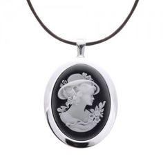 Kamea Srebrny wisior z agatem Śliczna Pendant Necklace, Jewelry, Jewlery, Jewerly, Schmuck, Jewels, Jewelery, Drop Necklace, Fine Jewelry