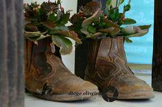 Reapeoveitar botas velhas