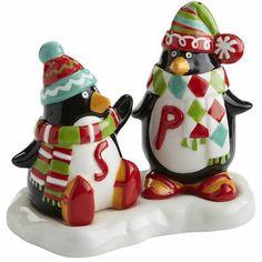 Penguin Salt & Pepper Shakers