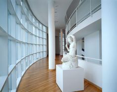 Image 10 of 14 from gallery of AD Classics: High Museum of Art / Richard Meier & Partners. Building Sections, Courtesy of Richard Meier & Partners Architects Chinese Architecture, Architecture Office, Futuristic Architecture, Architecture Details, Office Buildings, Richard Meier, Richard Neutra, High Museum, Art Museum