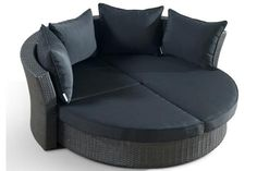MADISON 2-IN-1 OUTDOOR ROUND DAY BED / SOFA OFRIDDB141