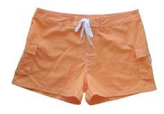 Beach Rays Low Rise Juniors Surf Board Shorts (7, Mellon) ♥