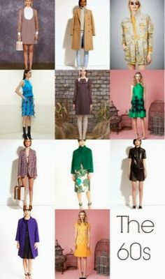 Love the green dress in the second row! Pre-Fall 2014 Fashion Trends - The Nod Quirky Fashion, Only Fashion, Fashion Week, Love Fashion, Vintage Fashion, 2014 Fashion Trends, 2014 Trends, Fall Trends, Fashion Ideas
