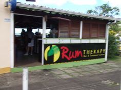 Rum Therapy Bar, St. Lucia