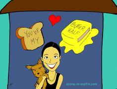 Butter Half fan art? Adorable!