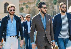 Popover shirt, biggest trend of the summer - menswear street style, Pitti Uomo trade show
