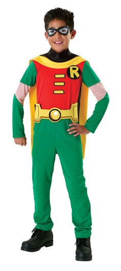 Batman-Teen Titan Robin Boy's Costume