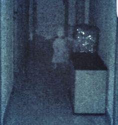 Ghost Photo: Girl in the Hall   Ghosts and Ghouls