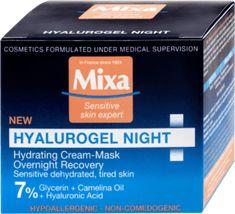 Mixa Nočný krém Hyalurogel Night, 50 ml Hyaluronic Acid, Facial, Medical, Personal Care, Cosmetics, Facial Treatment, Self Care, Facial Care, Medicine
