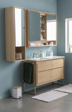 Un style scandinave pour la salle de bains