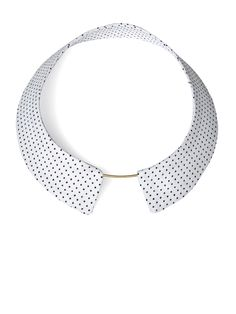 TURINA- COL-1W COLLAR Necklace from viscose, reinforced by plastic. 34€ via turinajewellery.com