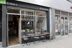 For amazing tea, coffee and cards, head to Fig & Sparrow in the Northern Quarter, Manchester