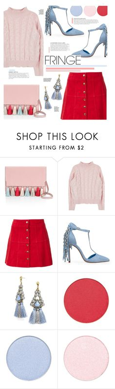 """""""Fringe"""" by just-a-girl-with-thoughts ❤ liked on Polyvore featuring Rebecca Minkoff, Ines de la Fressange, Privileged, KAROLINA, BaubleBar and fringe"""