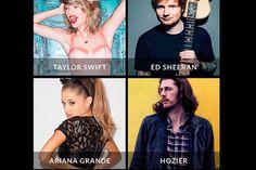 Taylor Swift, Ed Sheeran e Ariana Grande confirmados parao Victoria's Secret Fashion Show - http://metropolitanafm.uol.com.br/novidades/taylor-swift-ed-sheeran-e-ariana-grande-confirmados-parao-victorias-secret-fashion-show