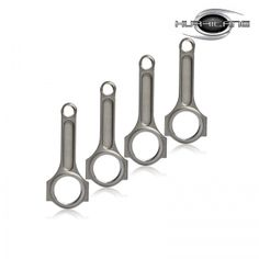 Toyota 4AGZE Forged Connecting Rods , used 4340 steel material . rebecca@hurricane-rod.com.cn .