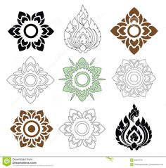 thai pattern vector - Google Search