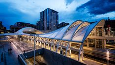 Denver's historic Union Station is a Beaux Arts masterpiece located on the edge of the city's central business district. SOM was commissioned to expand Union Station, Light Rail Station, Central Business District, Marina Bay Sands, Denver, Transportation, City, Building, Travel