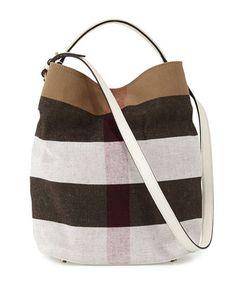 dfe3985c3ba9 Ashby Medium Mega Check Bucket Bag
