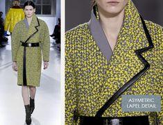 Fabrics and Hardware at Balenciaga | The Cutting Class. Balenciaga, AW14, Paris, Image 10.
