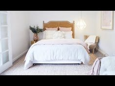 See how Bon converted her garage into a beautiful guest cottage at The Beach Shack! Interior, Modern Beach House, Pine Floors, Beach Shack, Home Decor, Beach Apartment, Cottage Interiors, Guest Cottage, Interior Design