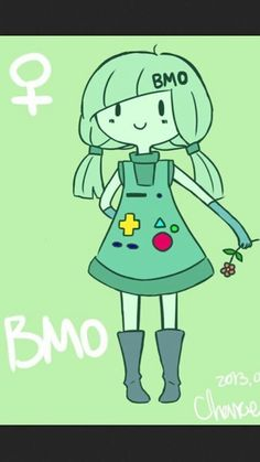 Human Bmo... even though he's a male L.K.