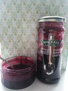 Mackays Blackcurrant Sauce for Meatballs  http://couthiecantie.wordpress.com/2014/03/09/mackaysmightyoosht/