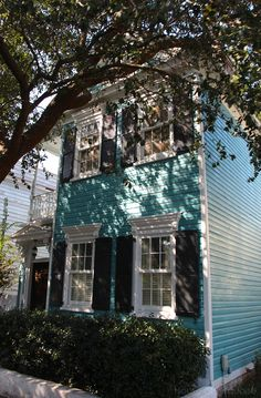 Exterior color ideas House of Turquoise: Turquoise in the Lowcountry