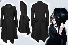 Vintage ALL SAINTS NWT Gwen Coat UK10 (US6) Victorian Bustle Steampunk Edwardian #AllSaints #OtherCoats #Formal