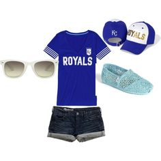 Kansas City Royals~, created by julianaphillips on Polyvore