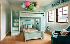 """Gợi ý những mẫu trang trí nội thất phòng ngủ """"cực yêu"""" cho trẻ"""