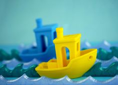 Ahoy! Here's a fun torture test for your printer - 3DBenchy, the jolly 3D test & benchmarker   http://www.youmagine.com/designs/3dbenchy-the-jolly-3d-printing-torture-test…