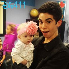 Photo: Cameron Boyce Visiting With Kids In A Shelter December 17, 2014