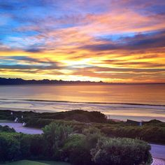 View from Robberg Beach Lodge. Winter sunsets are a sight to behold in Plettenberg Bay. Cool, crisp evenings are perfect for day dreaming and star gazing. Winter Sunset, Beach Holiday, Stargazing, Cape Town, Be Perfect, Sunsets, South Africa, Crisp, Sunrise
