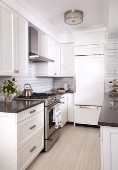 Before and After: A Drab NYC Apartment Gets a Mod Makeover via @domainehome