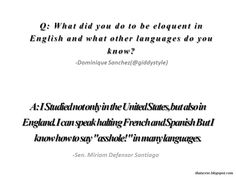 That Verse: Sen. Miriam Defensor Santiago
