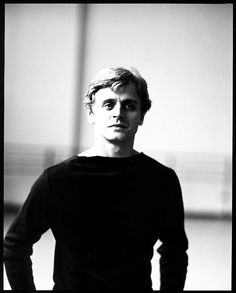 Baryshnikov, New York City Ballet, 1979; photograph by Arthur Elgort.