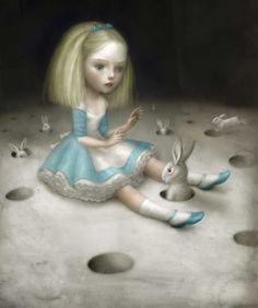 "from ""Heavenly Nightmares"" Exhibition by Nicoletta Ceccoli. [Pop Surrealism]"