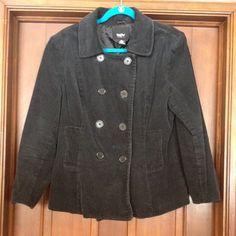 Black coat Euc Mossimo Supply Co Jackets & Coats