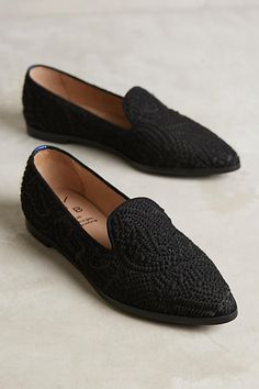 KMB Tweed Smoking Slippers - anthropologie.com